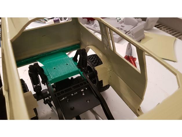 Carrosserie 3D Ford Explorer 4x4 pour scale et crawler 1/10 M1f10