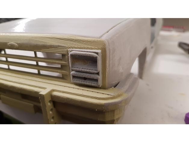 Carrosserie 3D Ford Explorer 4x4 pour scale et crawler 1/10 M1h10