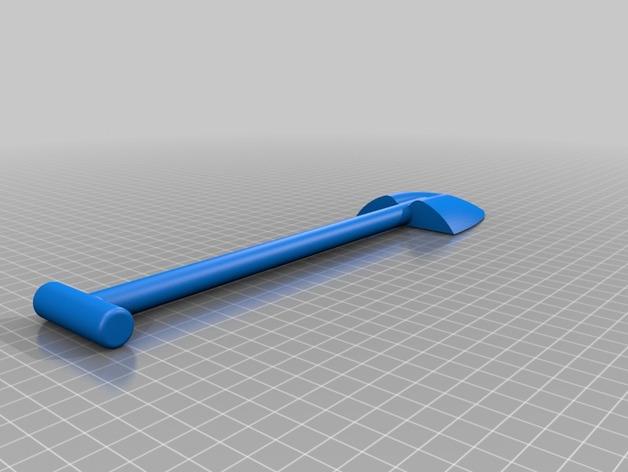 Pelle 3D pour Scale et Crawler 1/10 M2_ron11