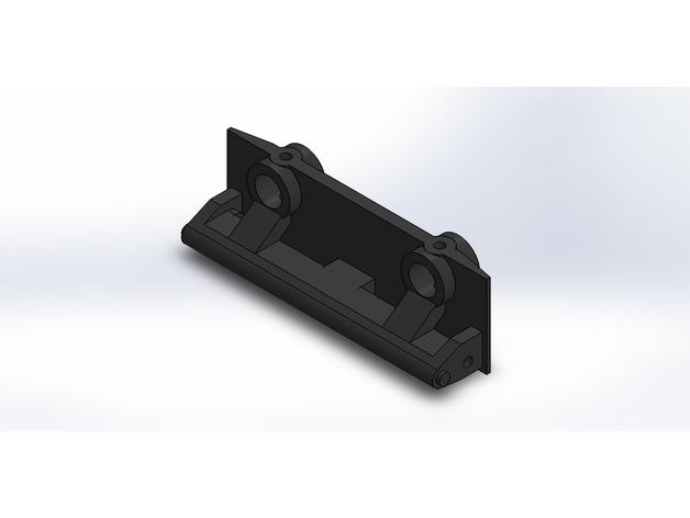 Support Parechoc 3D Réglable pour Scale et Crawler 1/10 M2a-st10