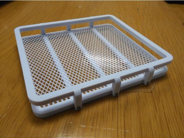 Galerie de toit 3D et Porte Bagage 3D pour Scale et Crawler 1/10 M2a12