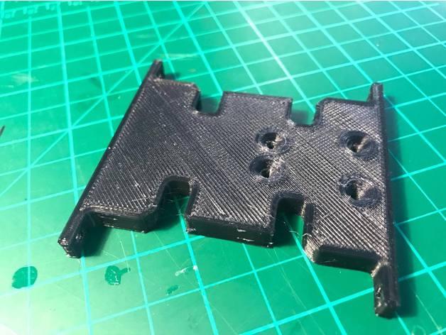 Skid 3D ou Support Transmission 3D pour SX10 et autre Scale et Crawler 1/10 M2a13