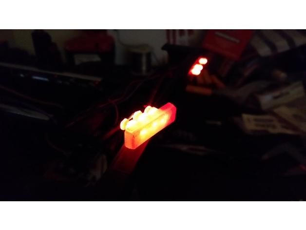 Réflecteurs 3D et Feux d'Eclairage 3D pour Scale et Crawler 1/10 - 1/8 - 1/12 M2a15