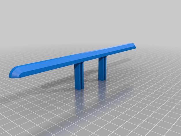 Parechoc 3D avec Attache Remorque 3D pour Scx10 et autres Scale et Crawler 1/10 M2a17