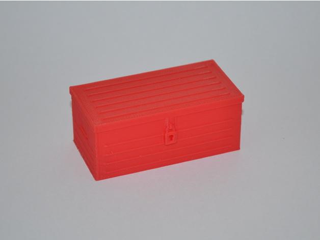 Boite à outils 3D ou boitier électronique 3D pour Scale et Crawler 1/10 M2a21