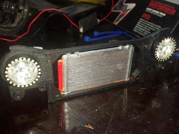Radiateur 3D pour Scx10 et tout Scale et Crawler 1/10 M2a23