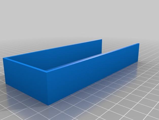 Support de Batterie 3D ou Support d'Accus 3D pour Scale et Crawler 1/10 M2a25