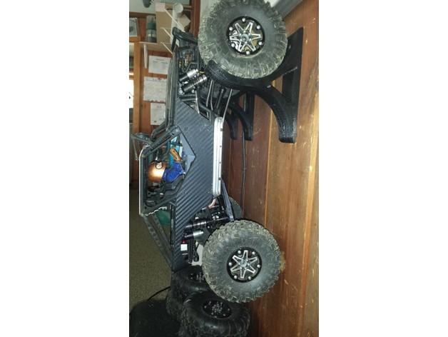 Trépied de stockage surélevé 3D pour Scale et Crawler 1/10 M2a42