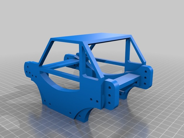 Chassis 3D pour Scale et Crawler 1/10 M2a44