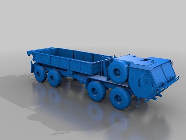Carrosserie 3D Camion Oshkosh HEMTT 4x4 6x6 8x8 pour Scx10 et tout Scale et Crawler 1/10 M2a47