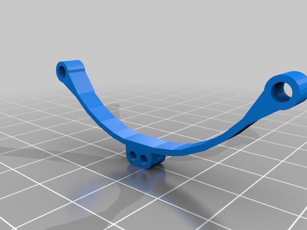 Lame de Suspension 3D ou suspensions à lame pour Scale et Crawler 1/10 M2a51