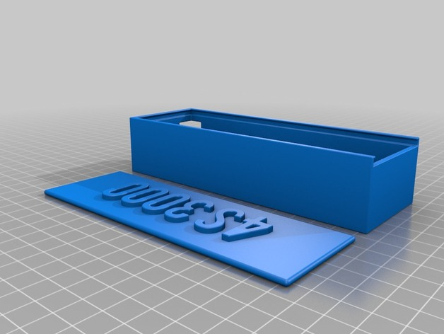 Lipo Hard Case 3D ou Coque Accus Lipo 3D pour Rc et Modélisme M2a53