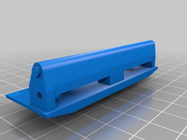 Support Parechoc 3D Réglable pour Scale et Crawler 1/10 M2b-st10