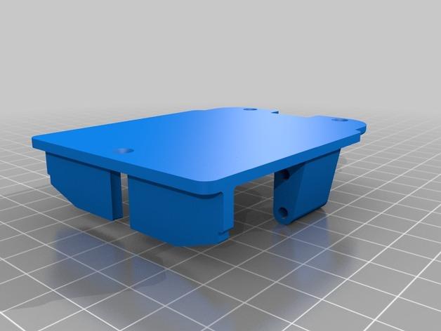 Support de Servo 3D sur Chassis pour Scale et Crawler 1/10 M2b22