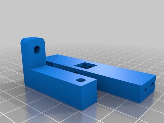 Attache Remorque 3D pour Scale et Crawler 1/10 M2b23