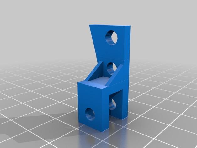 Barre Panhard 3D et Support Fixation Barre Panhard 3D pour Scx10 et tout Scale et Crawler 1/10 M2b25