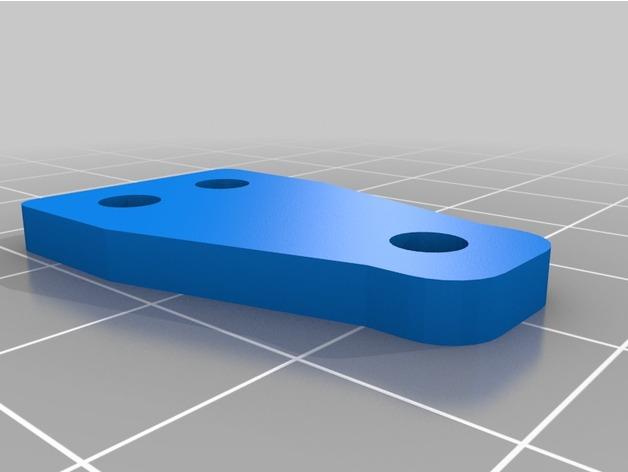 Support Fixation Suspensions ou Amortisseur 3D Réglable pour scx10 et tout scale et crawler 1/10 M2b26