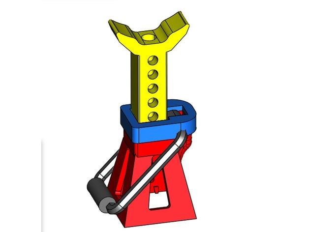 Chandelle 3D à hauteur réglable pour Scale et Crawler 1/10 M2b29
