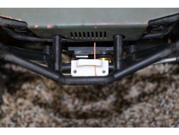 Sortie de Câble de Treuil de Parechoc 3D pour Scale et Crawler 1/10 M2b34