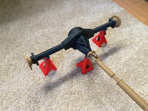 Cardan de Transmission 3D pour Scale et Crawler 1/10 M2b40