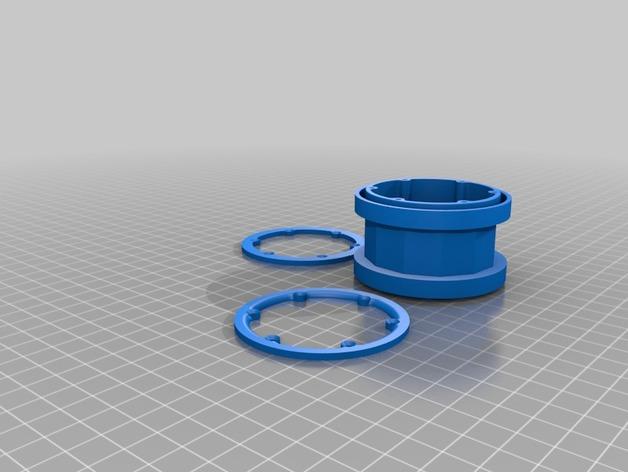 Jante beadlock 2.2 en 3D pour Scale et Crawler 1/10 - 1/8 M2c10
