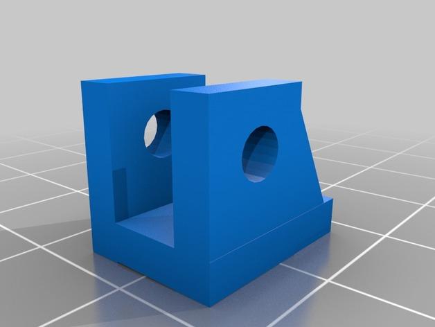 Barre Panhard 3D et Support Fixation Barre Panhard 3D pour Scx10 et tout Scale et Crawler 1/10 M2c13