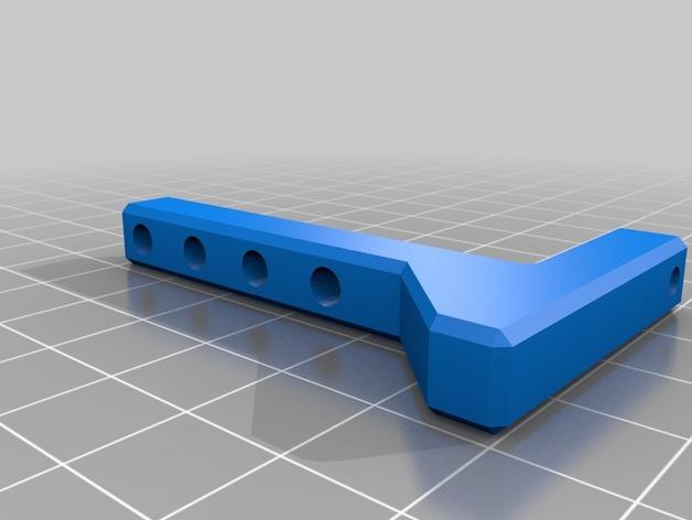 Attache Remorque 3D pour Scale et Crawler 1/10 M3a-hg10