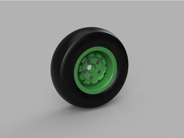 Jante Beadlock 1.9 en 3D pour Scale et Crawler M3a10