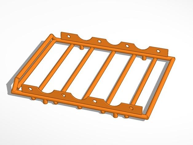 Galerie de toit 3D et Porte Bagage 3D pour Scale et Crawler 1/10 M3a13