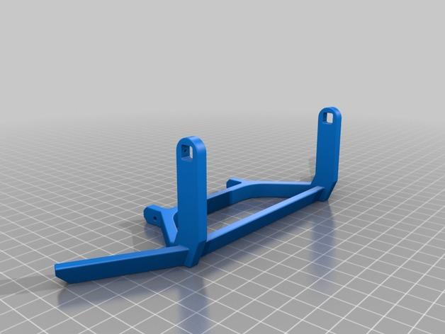 Parechoc 3D avec Attache Remorque 3D pour Scx10 et autres Scale et Crawler 1/10 M3a15