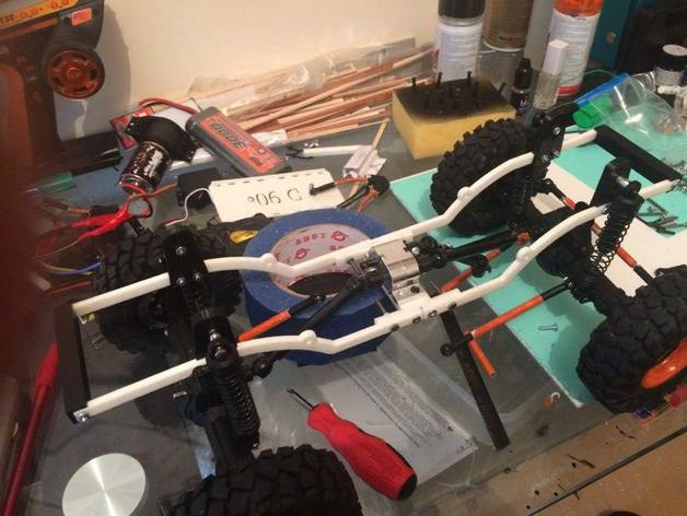 Chassis 3D pour Scale et Crawler 1/10 M3a30