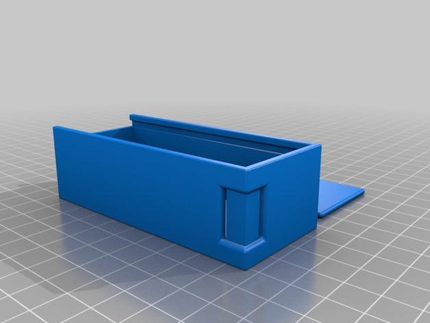 Lipo Hard Case 3D ou Coque Accus Lipo 3D pour Rc et Modélisme M3a34