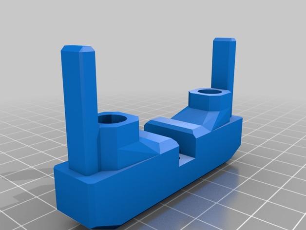 Attache Remorque 3D pour Scale et Crawler 1/10 M3b-hg10