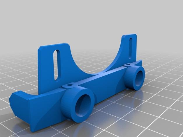 Support Parechoc 3D Réglable pour Scale et Crawler 1/10 M3b12