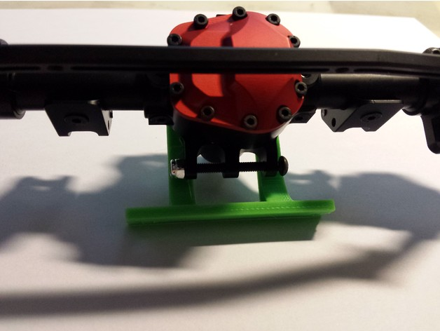 Support de Servo 3D sur Pont pour SCX10 SCX10 II, Axial Wraith et Poison Spyder M3b14