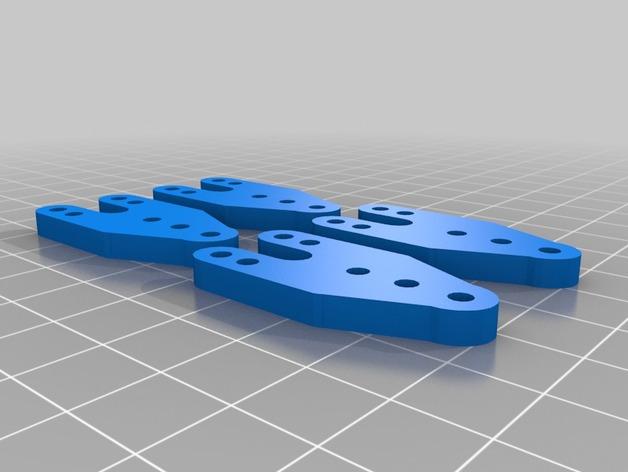 Support Fixation Suspensions ou Amortisseur 3D Réglable pour scx10 et tout scale et crawler 1/10 M3b15