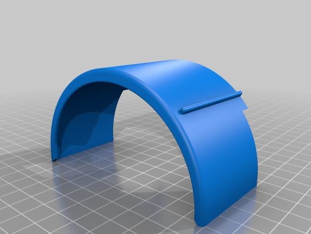 Garde Boue 3D et Passage de Roue 3D pour Scale et Crawler 1/10 M3b16