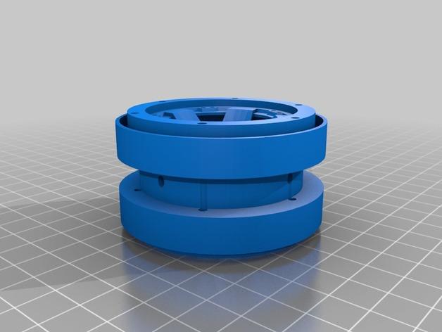 Pneu 2.2 en 3D et Jante Beadlock 2.2 en 3D pour Scale et Crawler 1/10 M3b20