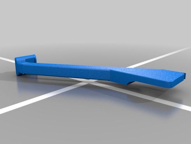 Echappement 3D ou Snorkel 3D pour Scale et Crawler 1/10 M3b21