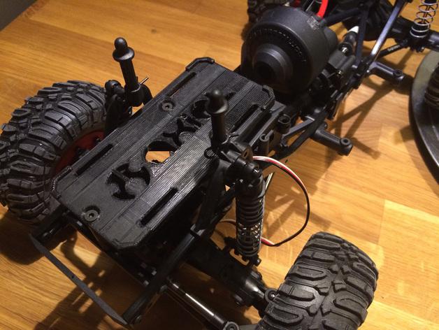 Support de Batterie 3D ou Support d'Accus 3D pour Scale et Crawler 1/10 M3b23