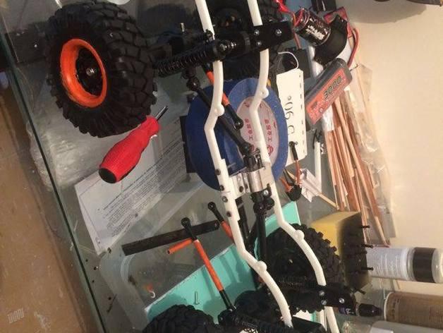 Chassis 3D pour Scale et Crawler 1/10 M3b24