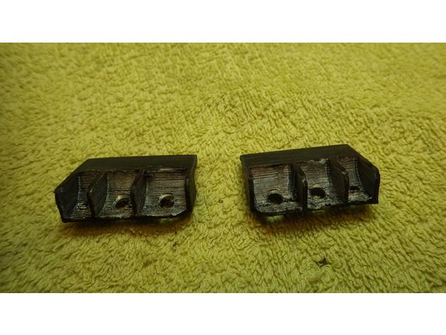 Réflecteurs 3D et Feux d'Eclairage 3D pour Scale et Crawler 1/10 - 1/8 - 1/12 M3c12