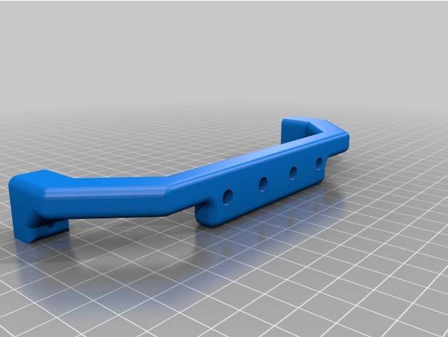 Support Fixation Carrosserie 3D Hauteur Réglable pour scx10 et tout scale et crawler 1/10 M3c14