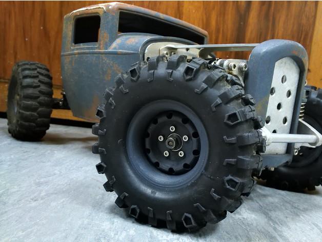 Jante Beadlock 1.9 en 3D pour Scale et Crawler M4a10