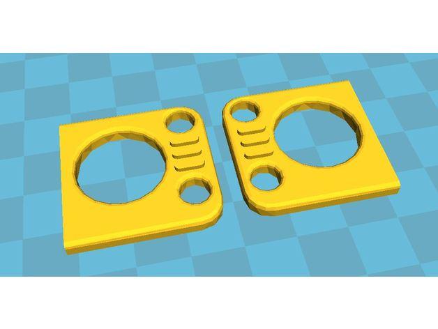 Réflecteurs 3D et Feux d'Eclairage 3D pour Scale et Crawler 1/10 - 1/8 - 1/12 M4a13