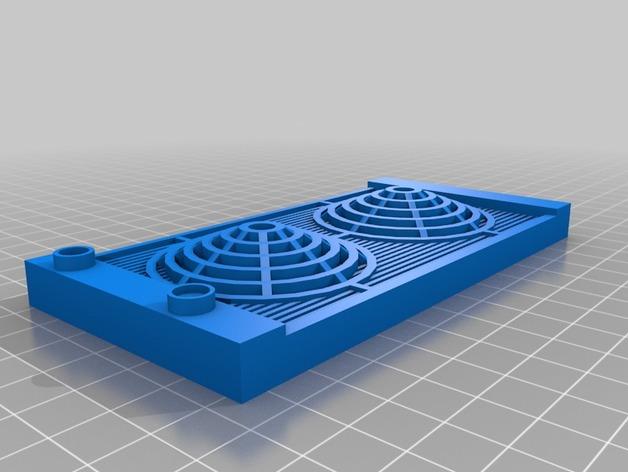 Radiateur 3D pour Scx10 et tout Scale et Crawler 1/10 M4a16