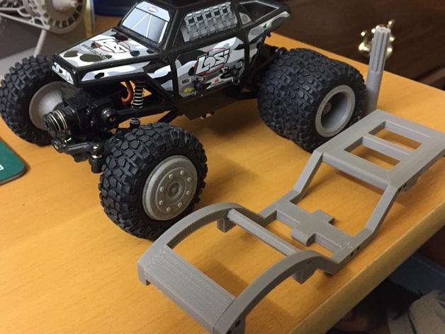 Chassis 3D pour Scale et Crawler 1/10 M4a21