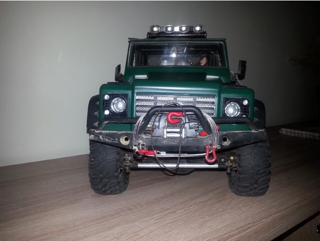 Réflecteurs 3D et Feux d'Eclairage 3D pour Scale et Crawler 1/10 - 1/8 - 1/12 M4b11