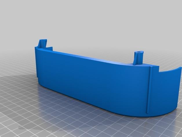 Garde Boue 3D et Passage de Roue 3D pour Scale et Crawler 1/10 M4b12