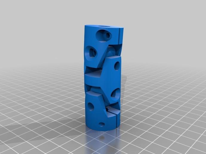 Cardan de Transmission 3D pour Scale et Crawler 1/10 M4b17